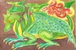 Three - headed dragon
