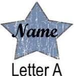 Blue Star names - Letter A