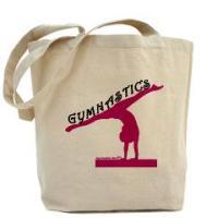Gymnastics Tote Bags by Gymnastics Stuff