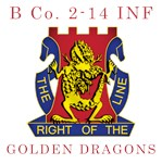 B Co 2-14 INF - Golden Dragons
