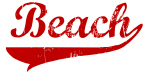Beach (red vintage)