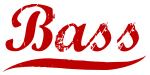 Bass (red vintage)