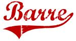 Barre (red vintage)