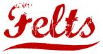 Felts (red vintage)