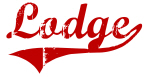 Lodge (red vintage)