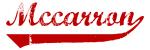 Mccarron (red vintage)