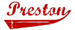 Preston (red vintage)