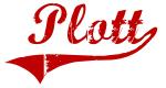 Plott (red vintage)