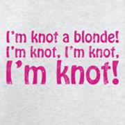 Knot a blonde