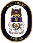 USS Boone FFG 28 Navy Ship Gear