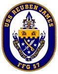 USS Reuben James FFG-57 Navy Ship