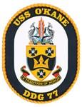 USS O'Kane DDG 77 Navy Ship