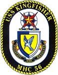 USS Kingfisher MHC 56 US Navy Ship