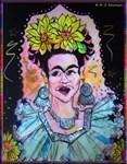 woman, caricature art