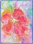 Flower! Colorful art!