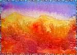 Deset, bright, southwest art!