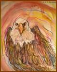 American Eagle, wildlife art!