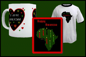 KWANZAA T-SHIRTS & GIFTS