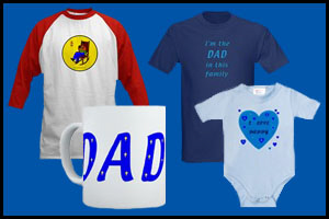 FATHERS DAY T-SHIRTS & GIFTS