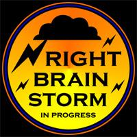 RIGHT BRAIN LEFTY T-SHIRTS AND GIFTS