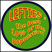 LEFTIES ARE BEST LEFTY T-SHIRTS & GIFTS