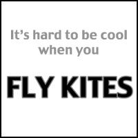 HARD TO BE COOL KITE FLYER T-SHIRTS & GIFTS