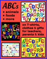 KIDS ALPHABET T-SHIRTS & GIFTS