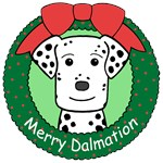 Dalmation Christmas Ornaments