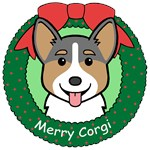 Pembroke Welsh Corgi Christmas Ornaments