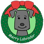 Labrador Retriever Christmas Ornaments