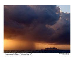 Cloudburst over Mokapu