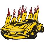 Hotrod Corvette