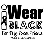 I Wear Black Ribbon For My Best Friend T-Shirts
