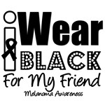 I Wear Black Ribbon For My Friend T-Shirts
