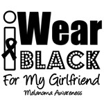I Wear Black Ribbon For My Girlfriend T-Shirts