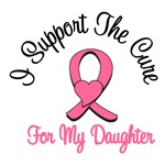 I Support The Cure For My Daughter T-Shirts