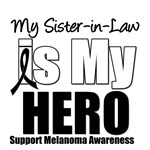 Melanoma Hero (Sister-in-Law) T-Shirts