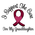 I Support The Cure Myeloma (Granddaughter) T-Shirt