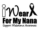 I Wear Black Ribbon For My Nana T-Shirts & Gifts