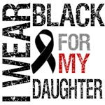 I Wear Black For My Daughter Shirts & Gifts