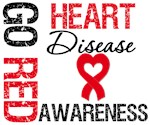 Go Red Heart Disease Awareness Shirts & Gifts