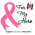 Breast Cancer For My Hero Shirts & Gifts