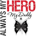 Melanoma Always My Hero My Daddy T-Shirts