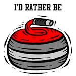 Rather Be Curling - Curler Curl