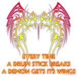When a Drum Stick Breaks