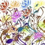 Grunge Multifloral Design