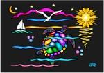 SEA TURTLE (Night Swim)