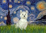 STARRY NIGHT<br>With Westie (#8)