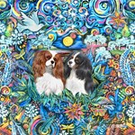 From a Painting<Two Cavalier King Charles
