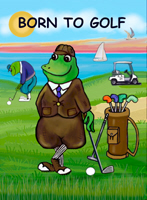 GOLFING FROGS